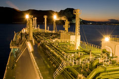 lng αερίου φυσικό σκάφος Στοκ φωτογραφία με δικαίωμα ελεύθερης χρήσης