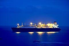 LNG βυτιοφόρων αερίου Στοκ Εικόνες