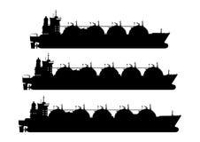 LNG μεταφορέας απεικόνιση αποθεμάτων