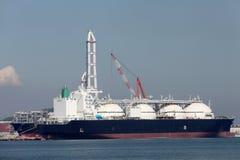 LNG cargo ship Stock Image