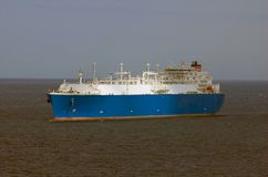LNG carrier ship for natural g Royalty Free Stock Images