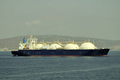 LNG carrier ship for natural gas Royalty Free Stock Photo