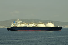 LNG carrier ship for natural gas Stock Photos