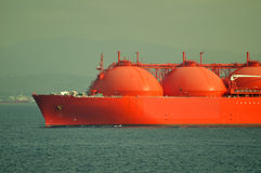 LNG carrier ship for natural gas Royalty Free Stock Photography
