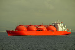 LNG carrier ship for natural gas Stock Photography
