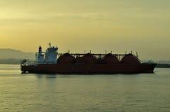 LNG carrier ship for natural gas Stock Photos