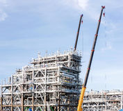 LNG Factory plant Royalty Free Stock Photography