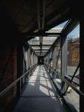 Lång korridor Arkivbild
