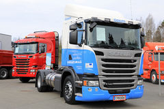 LNG Powered Scania G340 Truck Royalty Free Stock Photography