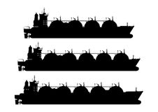 LNG przewoźnik ilustracji