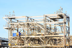 LNG Refinery Factory Stock Photography