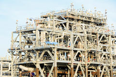 LNG Refinery Factory Royalty Free Stock Image