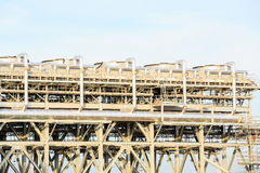 LNG Refinery Factory Stock Image