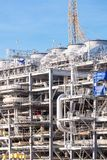 LNG Refinery Plant Royalty Free Stock Images