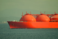 LNG ship for natural gas Stock Photos