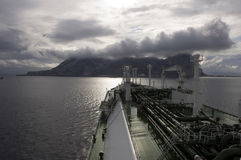 LNG ship for natural gas Stock Image