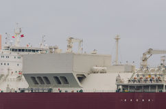 LNG TANKER Royalty Free Stock Image