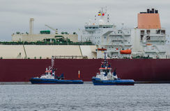 LNG Tanker Stock Photo