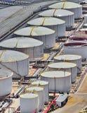 LNG Tanks Royalty Free Stock Photo