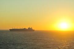 LNG-Trägerlieferung für Erdgas Stockbilder