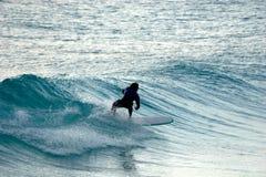 lång wave Arkivfoton