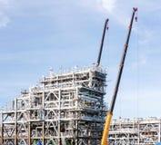 LNGfabriksväxt royaltyfri fotografi