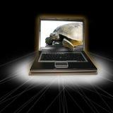 långsam teknologi Arkivfoton