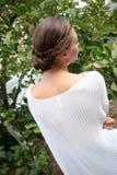 Långt hår för elegant frisyr Royaltyfri Foto