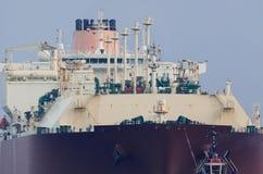 LNGtankfartyg arkivbild