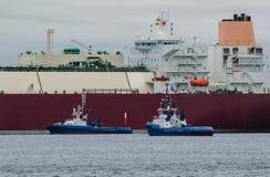 LNGtankfartyg Arkivfoto