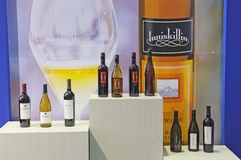 Lnniskillin and hogue , estancia wines Stock Photo