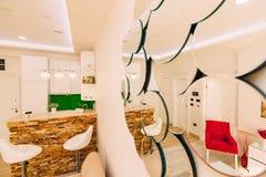 Lo appartamento-studio Appartamenti di progettazione Immagine Stock Libera da Diritti