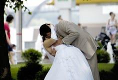 Lo bacio dò per sempre Fotografia Stock Libera da Diritti