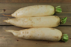 Lo Bok known as Daikon, or Winter Radish too Stock Photography