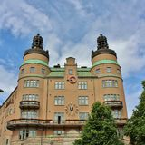 LO castle in Stockholm Stock Photos