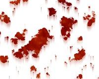 Lo del rojo del moho de la textura del fondo Fotografía de archivo libre de regalías