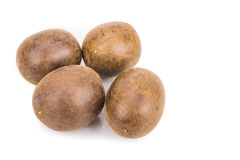 Lo Han Guo, Monk or Buddha fruit in white background Royalty Free Stock Image