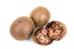 Lo Han Guo, Monk or Buddha fruit in white background Stock Photos
