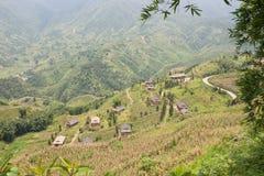 Lo Lao Chai Village Stock Photo