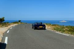 A lo largo de la costa Fotografía de archivo