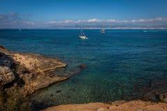 A lo largo de la costa Foto de archivo