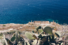 A lo largo de la costa oeste de Cerdeña Foto de archivo