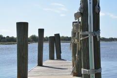 A lo largo de la orilla Foto de archivo libre de regalías