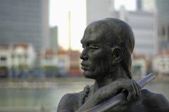 A lo largo de las calles de Singapur imagen de archivo libre de regalías