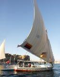 A lo largo del Nilo Imagenes de archivo
