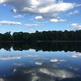 A lo largo del río Misisipi Imagen de archivo libre de regalías