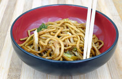Lo mein Stock Photography