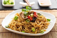 Lo mein Stock Photos