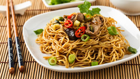 Lo mein Royalty Free Stock Images