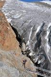 Lo scalatore Fotografia Stock Libera da Diritti